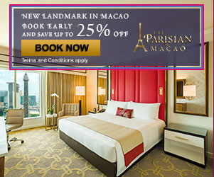 Sands China Parisian Macao Book Early and Save More