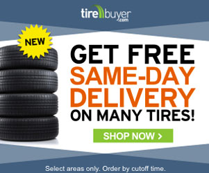 Free Same Day Shipping at TireBuyer.com